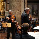 Luca Ranieri con la Filarmonica diretta da Pier Carlo Orizio